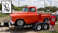 Nerd Rods, 55-59 Truck Frame Project 1956, C4 suspension